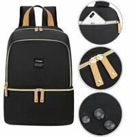 Breast Pump Bag Backpack - Cooler and Moistureproof Bag Double Layer for Mother