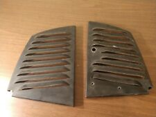 Vintage John Deere Snowmobile Console Panels M66130 and M66131