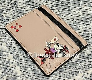 NEW Kate Spade Disney Minnie Mouse Card Holder Card Case Limited Edition Wallet
