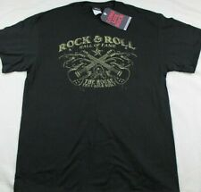 NWOT Rock & Roll Hall Of Fame Mens Shirt Size L Black The House That Rock Built