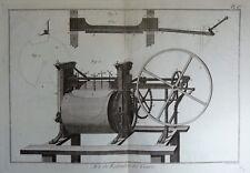 Lot Gravures Antique Print XVIIIe Art de Refendre les Cuirs Robert Benard