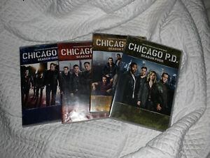 Chicago PD: The Complete Series DVD Seasons 1-4 season Pre-owned