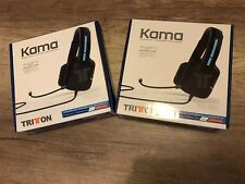 2 x Tritton Kama Stereo Playstation 4 PS4 Gaming Headset Headphones + Microphone