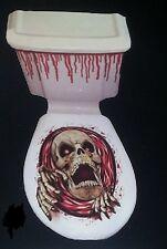 Halloween Horreur Sang terreur Squelette Monstre Scream WC décoration livraison gratuite