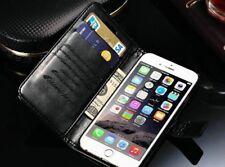Teléfono Móvil Funda Cuero Cover Flip Case Piel Trasera Smartphone iPhone 8 plus