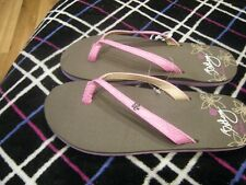 New Girls Pink Bethany by Cobian Lil Hanalei Flip Flops, Size 6
