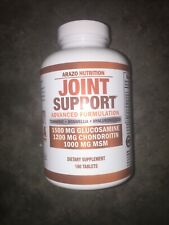 Glucosamine Chondroitin Turmeric MSM - Joint Support Supplement 180 Tablets
