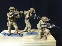 1:35 Kit Modern US Soldiers X65 High Quality Resin 3 FIGURES (NO BASE) Unpainted