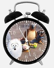 "The Secret Life of Pets Alarm Desk Clock 3.75"" Home Office Decor E316 Nice Gift"