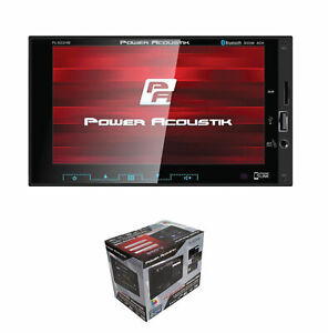 "Power Acoustik 2-DIN Multimedia Receiver 6.2"" LCD w/ Bluetooth, AUX, USB"