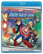 Next Avengers - Heroes of Tomorrow (Blu-ray Disc, 2008) Animated Marvel NEW