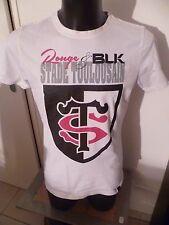 superbe t-shirt rugby stade toulousain taille:L