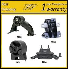 For 08-10 Town /& Country /& Grand Caravan 4.0L Engine /& Trans Mounts 4 Pcs Kit