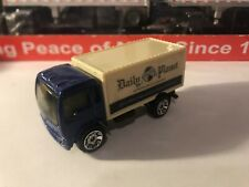 2006 Matchbox Isuzu Delivery Truck Superman Returns Daily Planet Blue Used