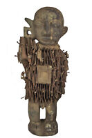 Afrika Kongo Figur Fetisch Nkisi N`kondi Schutzzauber Art Kunst Stammeskunst