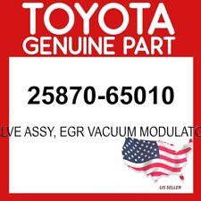 TOYOTA GENUINE 25870-65010 VALVE ASSY, EGR VACUUM MODULATOR OEM