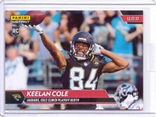 2017 Panini Instant NFL #126 Keelan Cole Rookie Card Jaguars - Only 89 made!