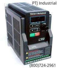 2 HP VFD Drive 230 Volt 3 Phase Inverter TECO Westinghouse L510-202-H3-U  New