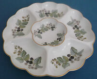 ROYAL WORCERSTER LAVINIA PORCELAIN LARGE HORS D'OEUVRES NIBBLES DISH TABLEWARE