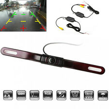 170° Car Wireless Rear View Reverse Backup License Plate Camera IR Night Vision
