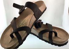 Birkenstock Papillio Tabora Euro 40 NIB Sandals Thongs Unisex L 9-M 7 Black