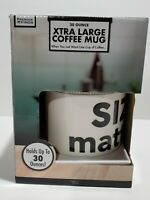 Size Matters Mug Large 30oz Cup Funny Coffee Mug Novelty Gift