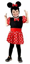 Mouse Girl ( Minnie ) Toddler Fancy Dress Costume  Age 18 Months - 3 Years - New