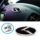 3d K Logo Steering Wheel Horn Cap Emblem For Hyundai Genesis Coupe 2009 2015