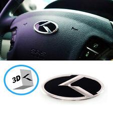 3D K Logo  Steering wheel Horn Cap Emblem For Hyundai Tucson ix 2010 2015