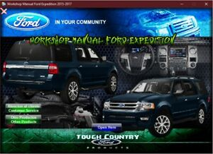 FACTORY REPAIR SERVICE MANUAL FORD EXPEDITION 2015-2017