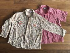 Jungen Hemden Kinder Kinderhemden, lang und kurz 2-teilig Gr. 116 von Esprit