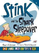 Stink and the Shark Sleepover (Book #9)-ExLibrary