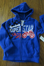 056398957 Toughskins Hoodie Newborn - 5T Boys  Sweaters