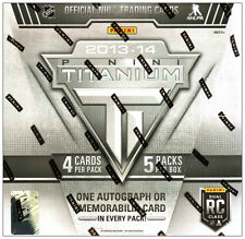 2013-14 PANINI TITANIUM NHL Hockey Hobby Box