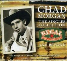 CHAD MORGAN (3 CD) THE SINGLES COLLECTION : REGAL ZONOPHONE AND BEYOND *NEW*