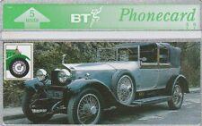 Rolls Royce - Silver Ghost - BT Phonecard - Unused