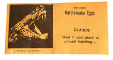 864 x Rattlesnake Eggs - 1 case Bulk Practical Joke Vending Novelty Carnival Toy