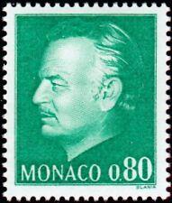 "MONACO N° 1079 ""EFFIGIE DU PRINCE, 80 C VERT""NEUF xxTTB"