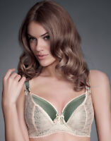 Brand New Fauve Coco Plunge Balcony Bra Willow Green 0252 RRP £54 VARIOUS SIZES