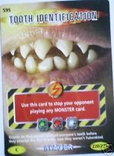 DR WHO INVADER CARD 595 TOOTH IDENTIFICATION  - MINT !!