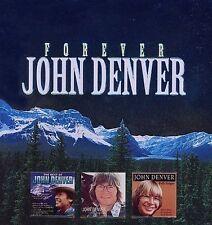 Forever John Denver by John Denver (CD, 2007, 3 Discs, Madacy)