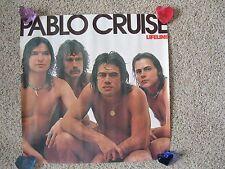 "Vintage (1976) Record Store Promo Poster ""Lifeline"" Pablo Cruise - AM Records"