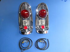 1956-56 CHEVROLET BEL AIR 210 150 TAILLIGHT ASSEMBLY-PAIR-GENE SMITH-NEW