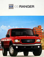 2005 Ford Ranger compact pickup new vehicle brochure