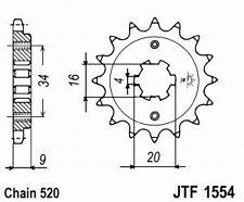 Pignon Sortie de boite JTF1554 14 Dents Pour Kit Chaine HYOSUNG GV 250 I AQUILA