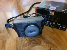 Sony Cybershot DSC-RX100VI M6 20.1 MP Advanced Digital Compact Camera - Black VI