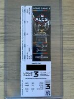 2019 ALCS New York Yankees vs Houston Astros Ticket Stub 10/17 Playoff GAME 5