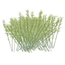 100pcs Modèle Arbres de Bambou Plastique Train Paysage échelle 1:75 Vert