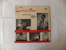 LP John LaPorta: Conceptions (US Fantasy Red Vinyl VG/VG)