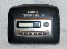 Vintage AIWA Stereo Radio/Cassette Player - Super Bass - Model TX356